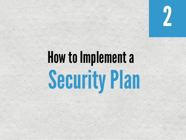 network security business plan