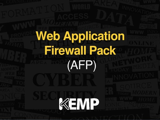 Web Application  Firewall Pack  (AFP)
