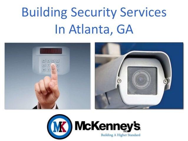 Building Security Services In Atlanta, GA