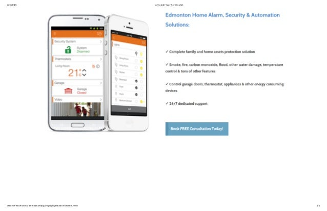Best Home Alarm Automation \u0026 Security System Edmonton. 2/7/2015 Annotate Your Screenshot chrome-extension://alelhddbbhepgpmgidjdcjakblofbmce/