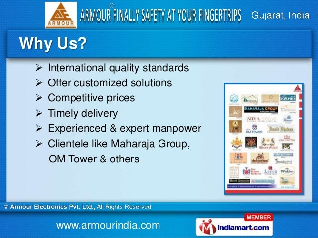 Security Systems by Armour Electronics Private Limited, Ahmedabad Slide 3