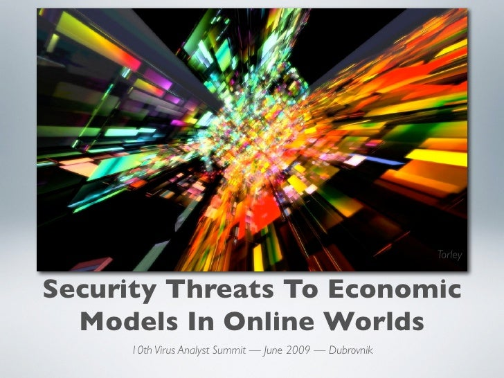jurvetson                                                                Torley   Security Threats To Economic   Models In...