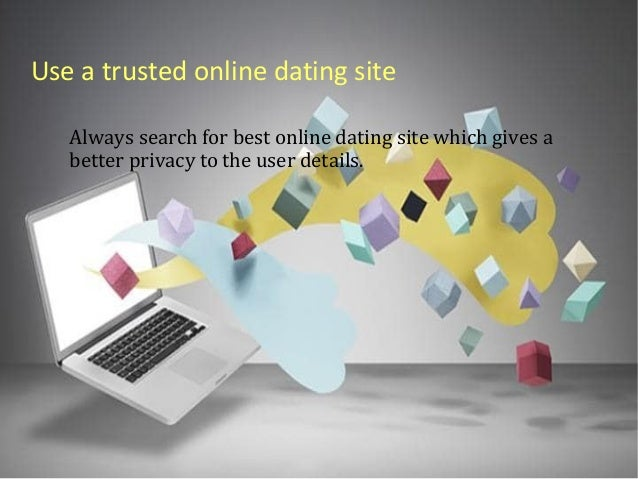 online dating site security