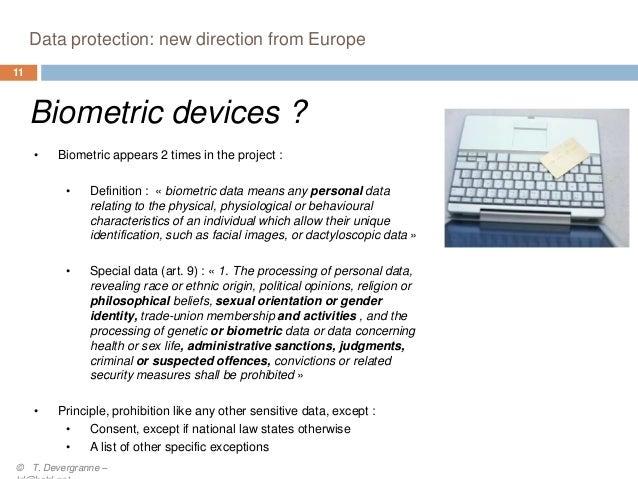 The new data privacy regulation framework