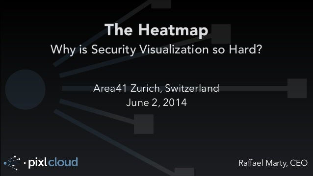 Raffael Marty, CEO The Heatmap