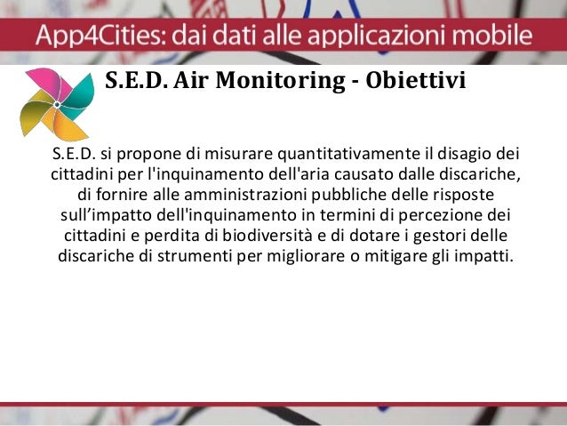 S.E.D. Air Monitoring Slide 2