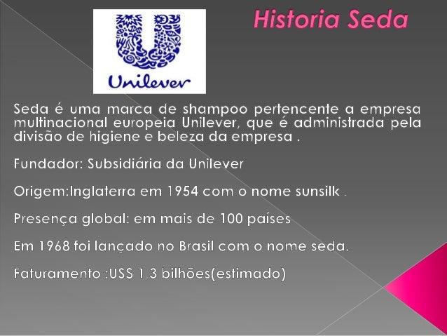    A marca seda tem como missão oferecer produtos de    qualidades e com preços acessível que atendem as    necessidades ...