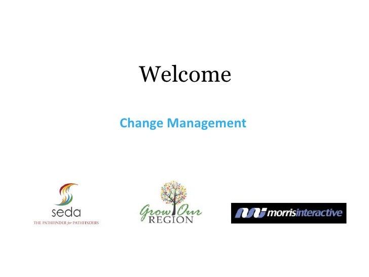 WelcomeChange Management