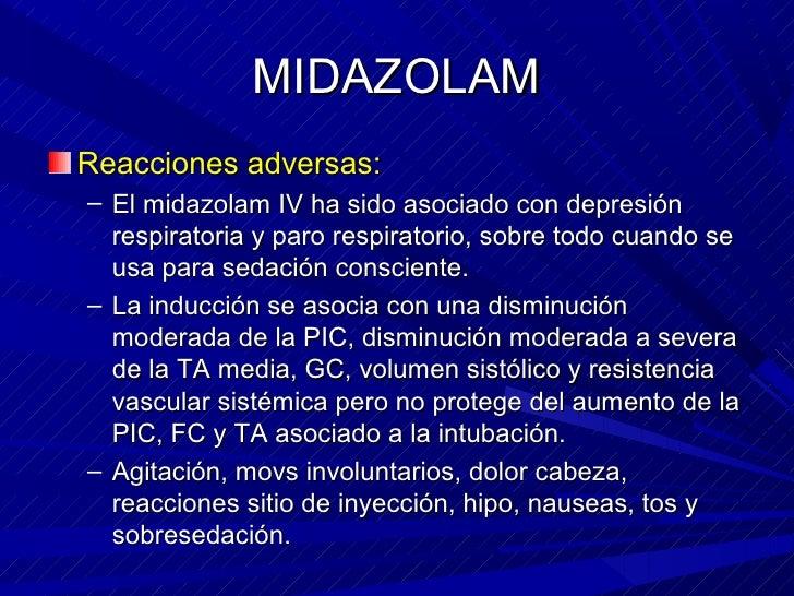 EFECTOS ADVERSOS MIDAZOLAM DOWNLOAD