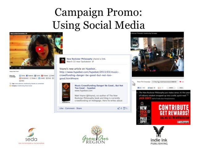 Campaign Promo: Using Social Media