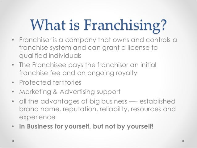 the challenges of buying a franchise Here's a list of the unique challenges franchisees face  your chances of  owning a franchise depends largely on your financial strength.