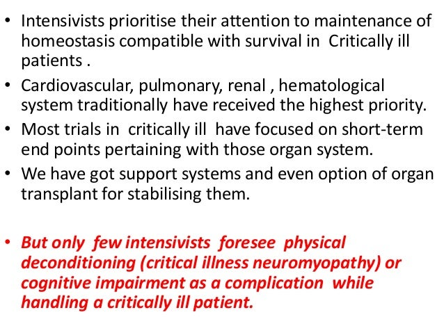 Sedation and mobility in ICU Slide 2