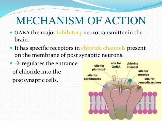 diazepam mechanism of action pdf