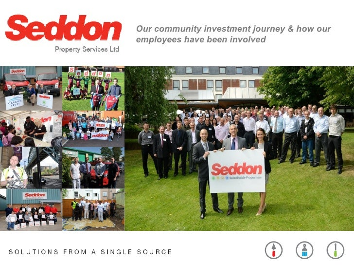Our community investment journey & how ouremployees have been involved