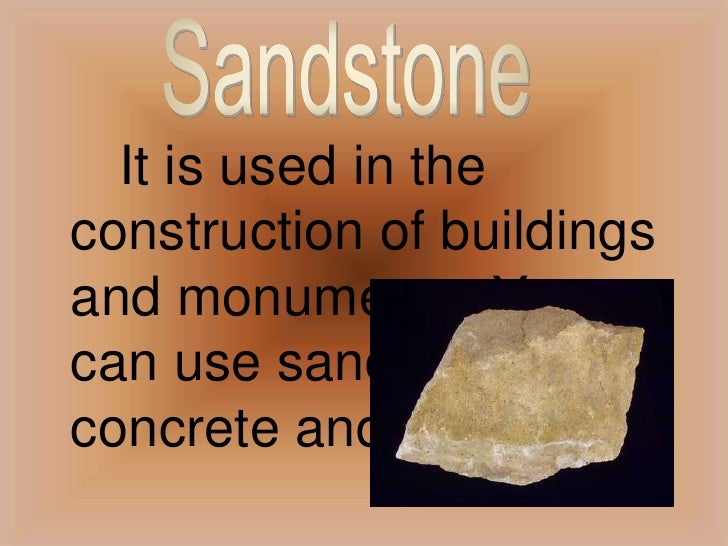 Uses Of Sedimentary Rocks For Kids