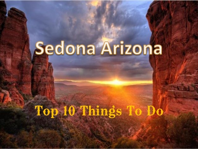Sedona Arizona Top Things To Do - 10 things to see and do in sedona