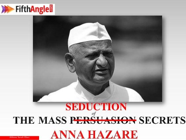 SEDUCTION                           ofAbhinna Suresh Khare