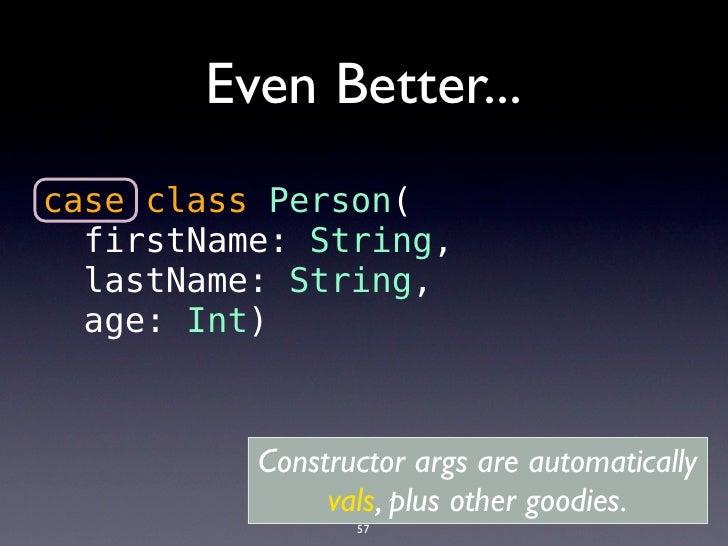It is Tail Recursive              def doLoop(n: Int):Unit ={               …               doLoop(n+1)             }      ...