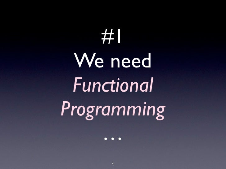 #1                                         We need                                        Functional                      ...