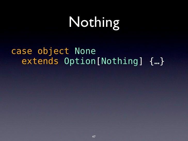 Example           trait Queue[T] {            def get(): T            def put(t: T)          }                            ...