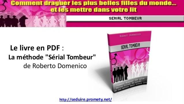 serial tombeur pdf