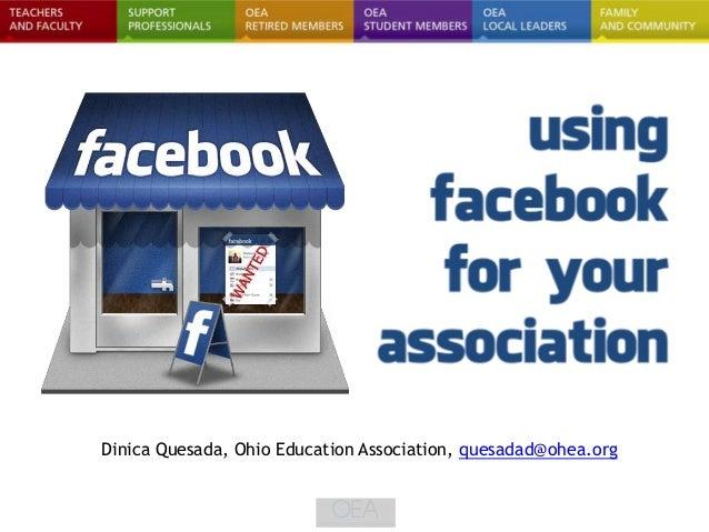 Dinica Quesada, Ohio Education Association, quesadad@ohea.org