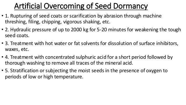 Dormancy of seeds ppt to pdf