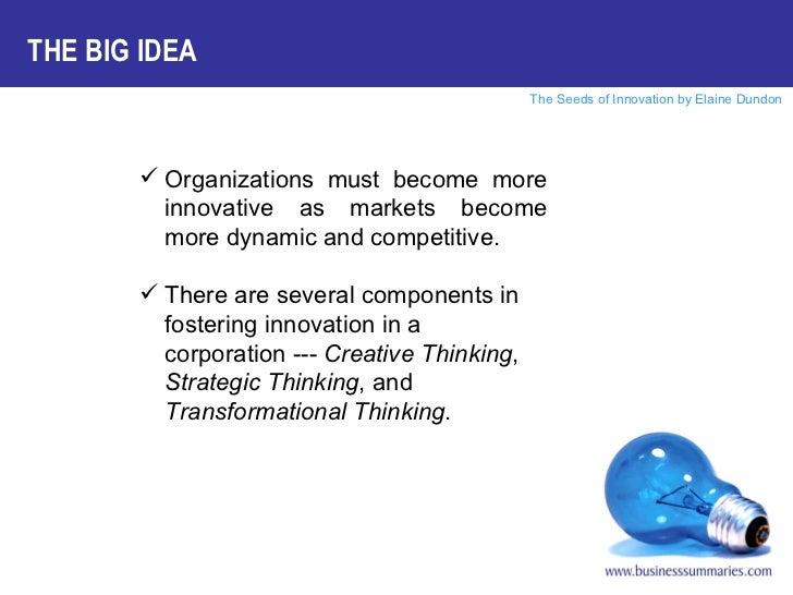 Seeds of Innovation Slide 3