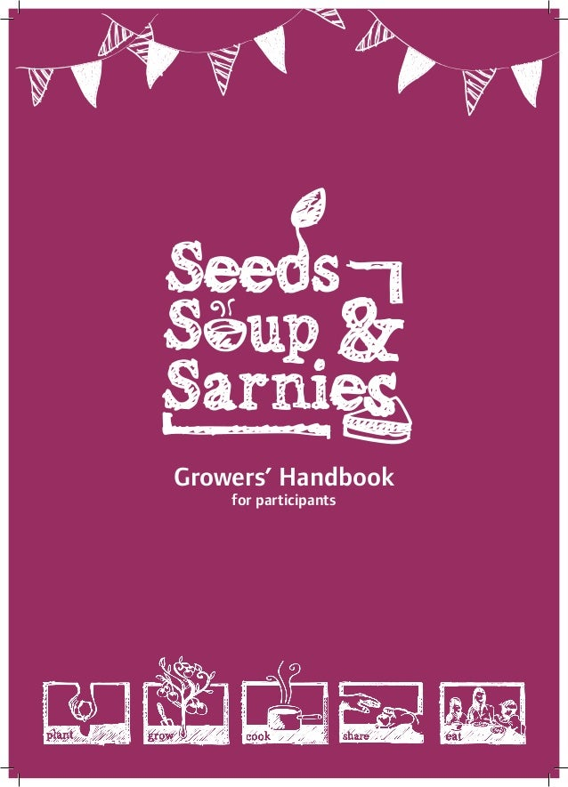 Growers' Handbook for participants