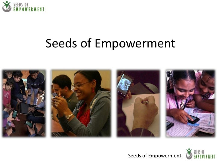 Seeds of Empowerment            Seeds of Empowerment