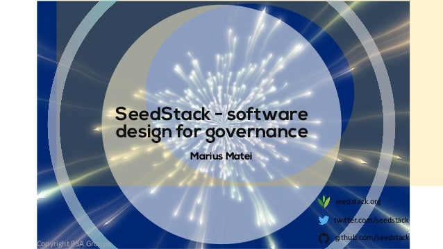 SeedStack : new application patterns, presented at OW2con'19
