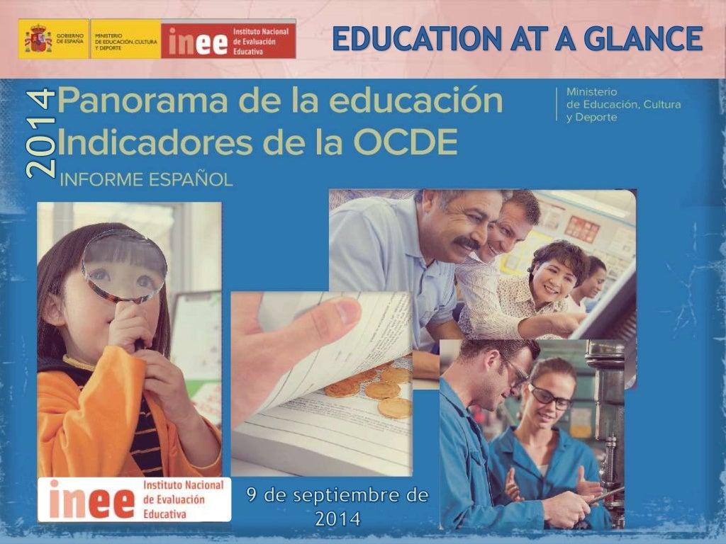 Presentación Panorama de la Educación 2014: Indicadores de la OCDE