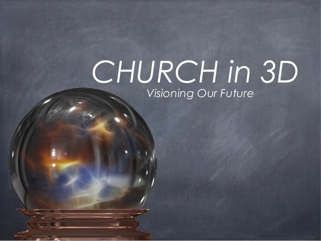 CHURCH in 3D Visioning Our Future