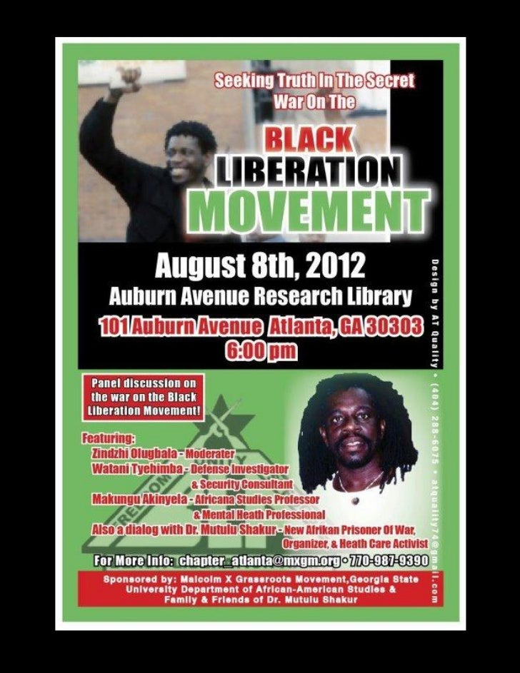 Seeking Truth in the War on the Black Liberation Movement  In Conversation with Dr. Mutulu Shakur August 8, 2012BLACK AUGU...