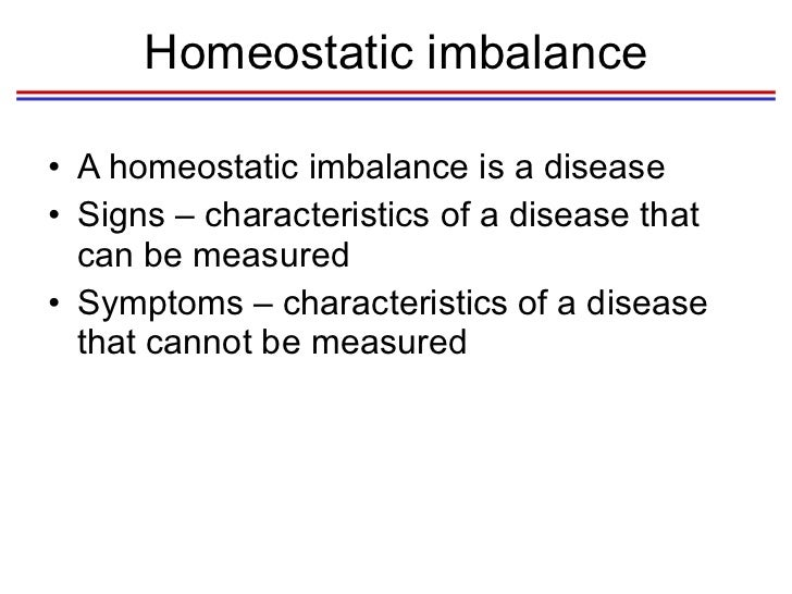 homeostatic imbalances essay Interaction between the respiratory and cardiovascular systems physical education essay  disclaimer: this essay has been  a condition known as homeostatic.
