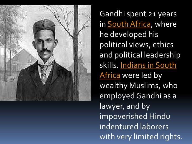 M.K  Gandhi