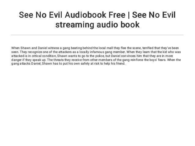 See No Evil 2 German Stream