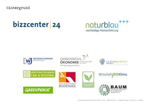 Hintergrund  GWÖ Regionalgruppe Konstanz  DeR weG ZUR Gemeinwohl-BilAnZ informationen zu Bilanz, Beratung, Audit & mitglie...