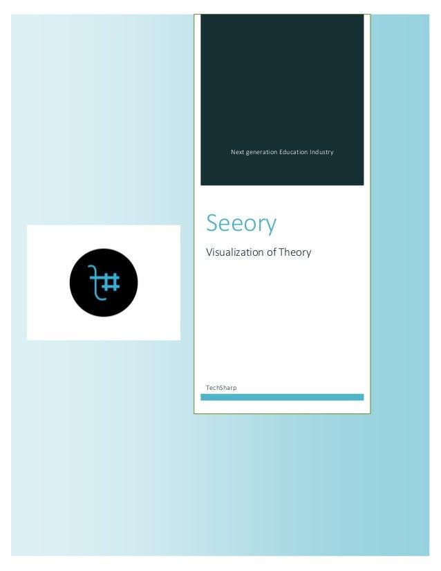 Next generation Education Industry  Seeory  Visualization of Theory  TechSharp