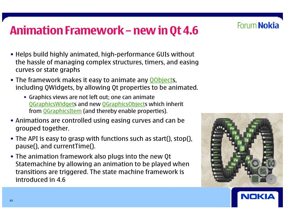 Qt in depth - presentation for Symbian expo 2009