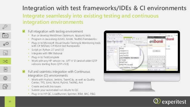 SeeTestAutomation - Mobile Test Automation Tool by Experitest