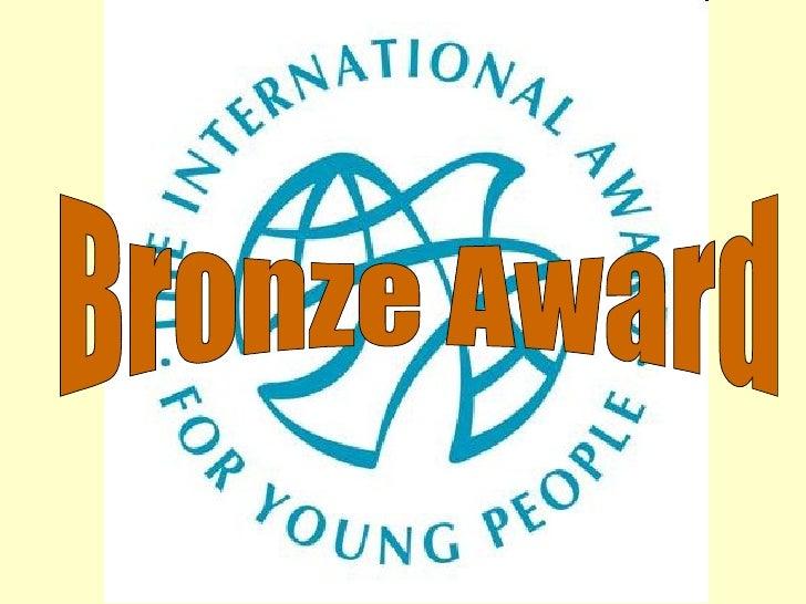 <ul>Bronze Award </ul>