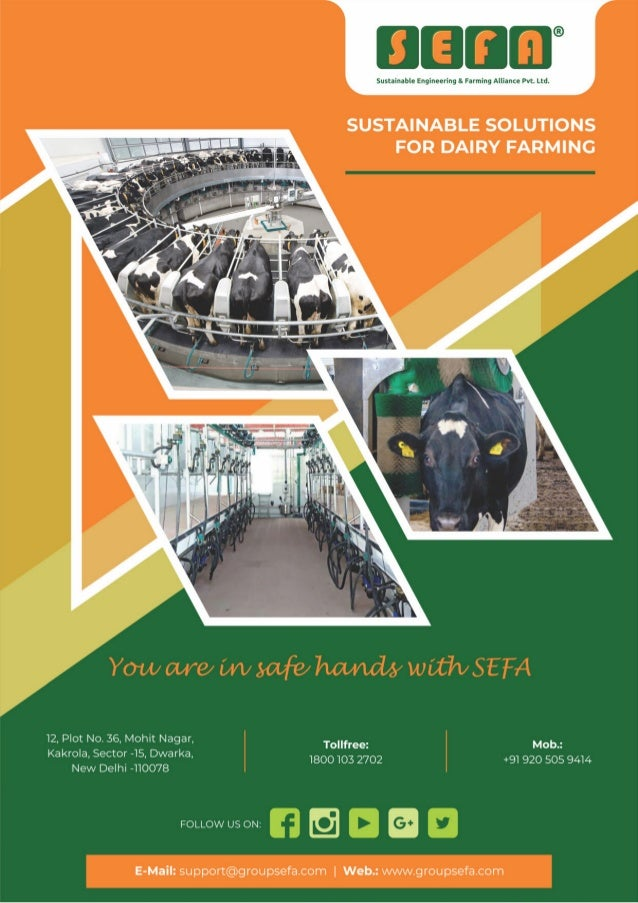 Dairy Equipment & Dairy Farm Supplies By Sustainable Engineering & Farming Alliance Private Limited
