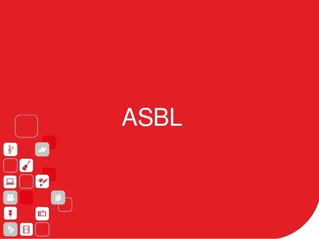 ASBL: Pourquoi? Structurer votre activité Simple Facturation Trésorerie: épargne Investissements (matériel, studio, locati...