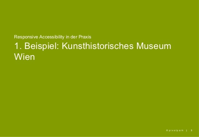 Responsive Accessibility in der Praxis Slide 3