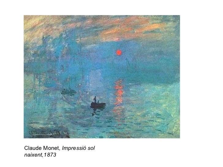 Claude Monet,  Impressió sol naixent,1873