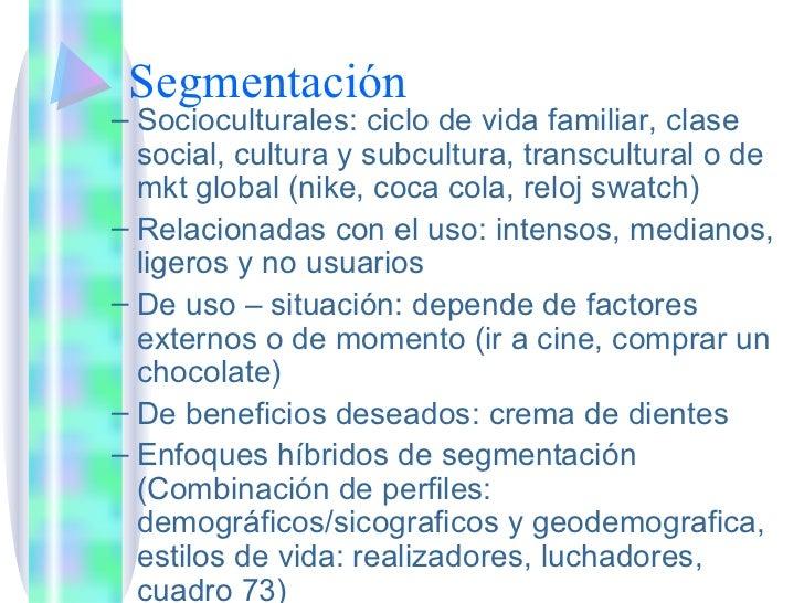 segmentacion de nike