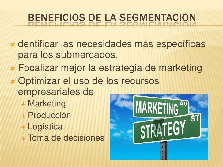 Segmentacion del mercado presentacion - La mejor campana extractora del mercado ...