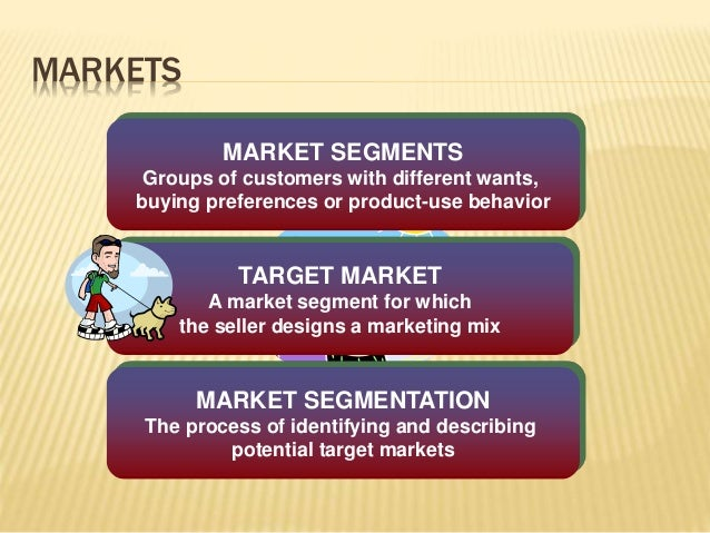 identify the segmentation criteria that will impact your target market selection Market target market selection target marketing tailors a marketing mix for one or more segments identified by market segmentation target marketing impact.