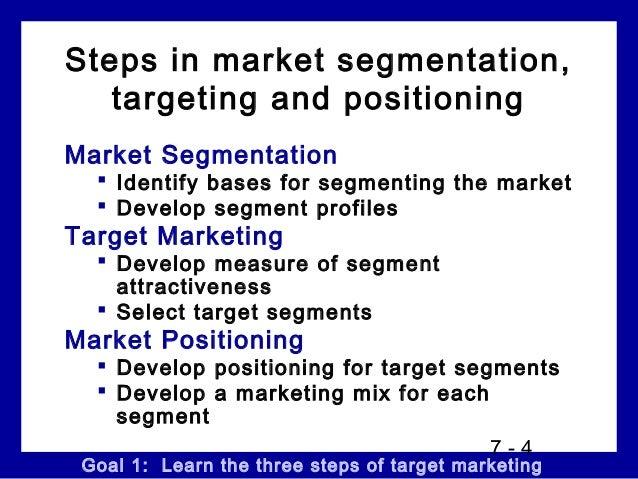 chery a case study of market segmentation targeting and market positioning Market segmentation, targeting and positioning segmentation, targeting and positioning market segmentation study guide market segmentation can be defined.